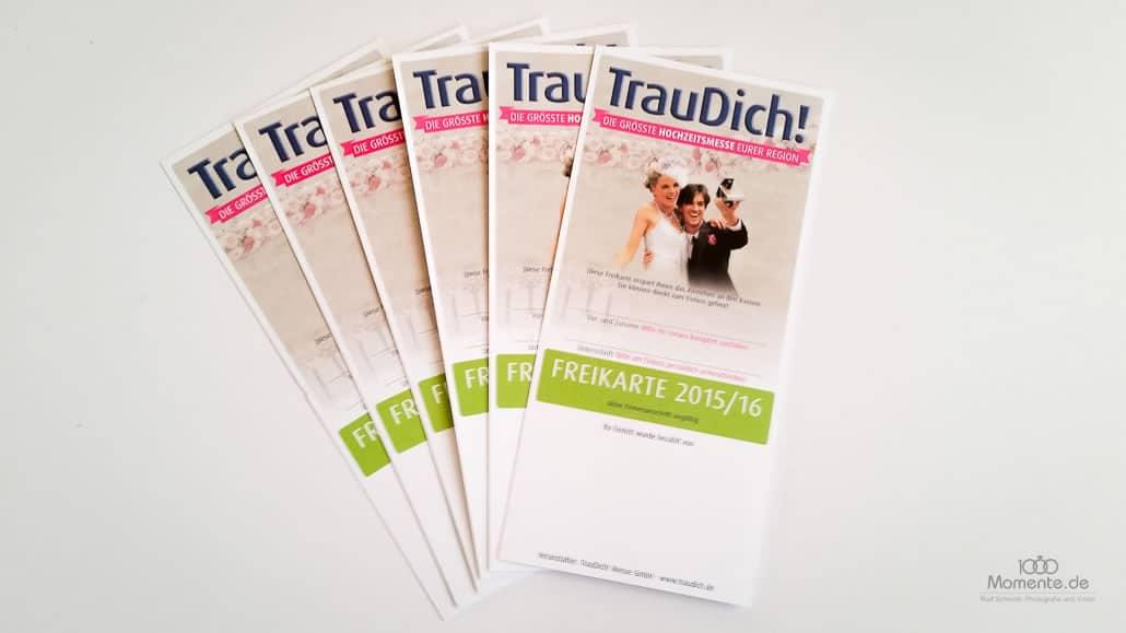 Gewinnspiel Hochzeit | TrauDich Eintrittskarten