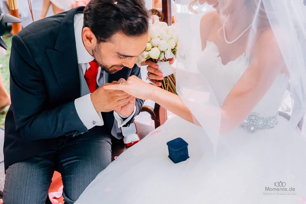 Persische Hochzeit Verschleierung